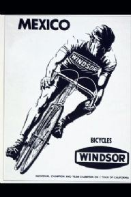 Vintage cycling poster - Mexico bicycles, Windsor